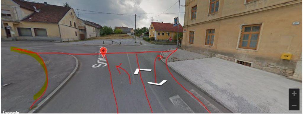 Razširitev vozišča Smrečnikove ulice