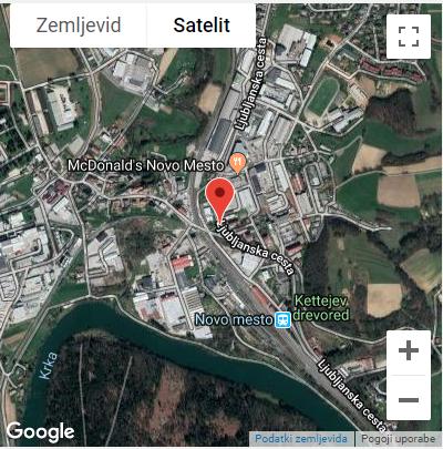 Ljubljanska cesta: Nevaren prehod za pešce